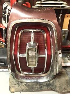 1967 Ford Galaxie 500 Xl Tail Light Lens Assembly Rh Lh Pair With Extensions