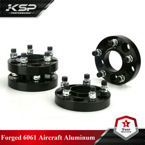 4 Hubcentric Wheel Spacers 1 Inch Fits Mustang Gt 2015 2020