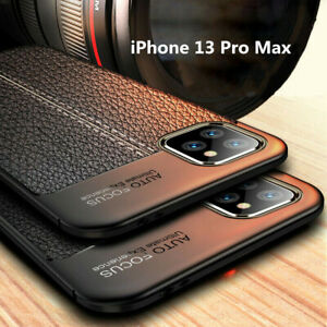 For iPhone 13 Pro Max 12 11 XS XR 8 7 Case Shockproof Leather Soft Rubber Cover $2.99