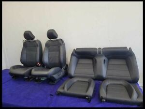 2015 2021 Ford Mustang Gt Seats Leather Set Coupe Driver Power No Bags
