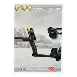 Xp Orx Metal Detector User s Manual French