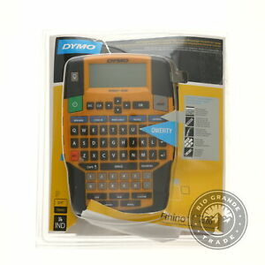 Used Dymo 1801611 Rhino Office 4200 Fast Typing Label Maker In Yellow Black