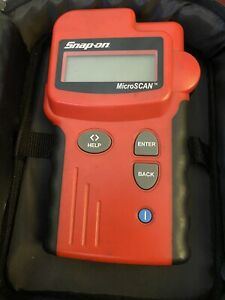 Snap on eesc307a Obd2 Microscan Scanner W cable Case Manual