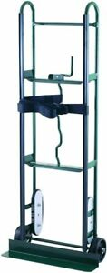 Capacity Appliance Dolly Hand Truck Strength Steel Rubber Wheels 800 Lb Capacity
