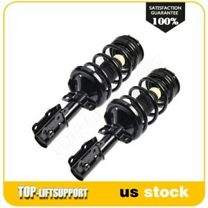 For 2003 2007 Saturn Ion 22l 24l Front Pair Quick Complete Struts Withsprings X2 Fits 2004 Saturn Ion