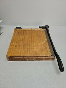 Ingento No 3 Vintage Paper Cutter By Ideal School Supply Co