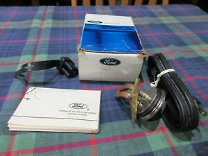Vintage 1975 Ford Engine Block Heater 7706 New In Box With Papers
