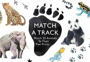 Magma for Laurence King Ser.: On the Right Track : Match 25 Animals to Their Paw $10.75