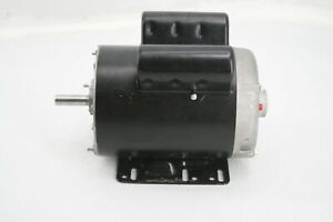 5hp 3450 Rpm P56 Frame Air Compressor Up To 230 Volt Single Phase Electric Motor