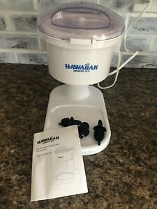 Hawaiian Shaved Ice S700 Electric Snow Cone Maker Working Great Hardly Used