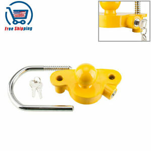 For 1 7 8 2 2 5 16 Security Lock Trailer Anti Theft Device Universal Coupler