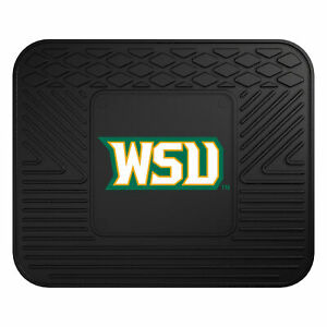 Wright State University Back Seat Car Mat 14in X 17in