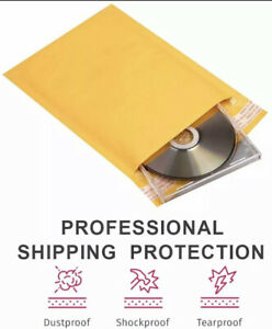 50 pack 4 x 6 Small Self seal Kraft Bubble mailers Padded envelopes