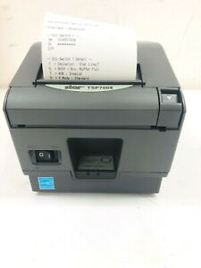 Star Tsp700 Bluetooth Only Thermal Receipt Printer Tsp143ii no Pwr Supply