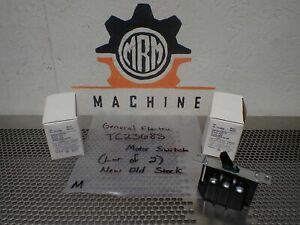 General Electric Tc2368s Motor Switches 30a 240v 20a 600v New lot Of 2