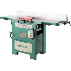 Grizzly G0634x 12 5 Hp Planer jointer With V helical Cutterhead