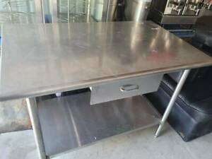 Duke Manufacturing Heavy Duty 48in Stainless Steel Prep Table 314sm pick Up Only