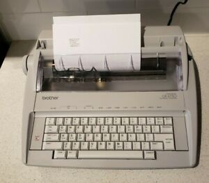 Brother Gx 6750 Electric Typewriter Tested