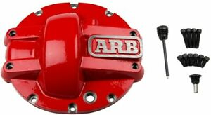 Arb Chrysler 8 25 Differential Cover Red 0750005
