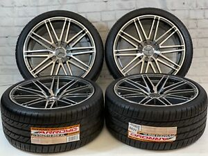 19 Wheels Rims Tires Fit Mercedes Benz C43 63 Amg E Class G Class Staggered