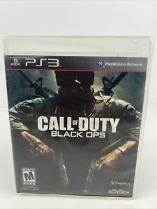 Call Of Duty: Black Ops For PlayStation 3 PS3 Tested Works $8.00