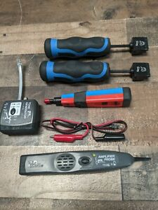 Ideal Network Tools Tone Generator Amplifier Probe Punch