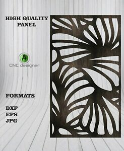 Dxf cdr Of Plasma Laser And Router Cut cnc Vector Panel Art 107