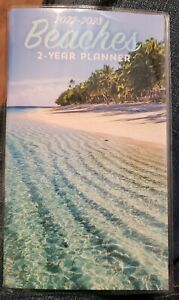 2022 2023 2 year Pocket Planner Beaches For School Work Appointments More
