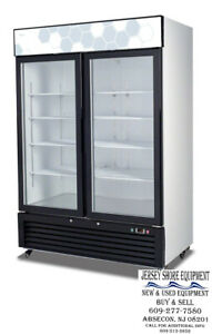 Migali C 49rm hc Upright Reach In Two 2 Hinged Glass Door Cooler Warranty