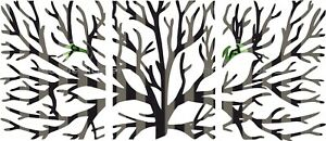 Dxf cdr Of Plasma Laser And Router Cut cnc Tree Silhouette Vector Art