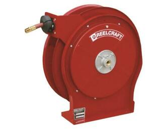Reelcraft A5835 Omp Spring Retractable Hose Reel 1 2 In X 35 Ft 3250 Psi