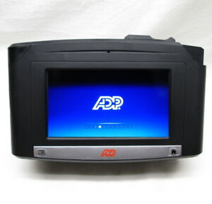 Adp Intouch 9100 Time Clock With Fingerprint And Id Badge Reader 8609100 458