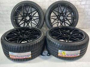 19 Wheels Rims And Tires Fit Bmw Fit M4 M3 437m M3 M5 Sport Staggered 666