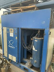 Quincy Variable Speed Screw Air Compressor Qgv 75