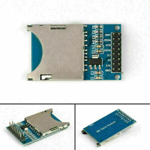 5x Sd Card Module Slot Socket Reader Fit For Arm Mcu Read And Write Ze
