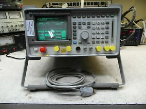 Hp 8920a Service Monitor Spectrum Analyzer Tracking Gen Loaded Periodic Cal