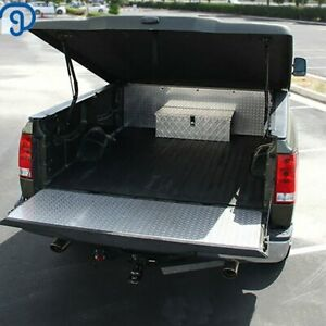 30 In Aluminum Tool Box With Lock For Pickup Truck Trailer Underbody Storage