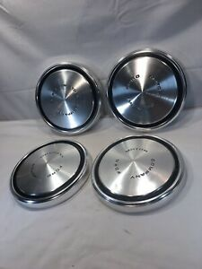 Vintage Ford Pickup Truck Or Car Dog Dish Hubcaps 1960s 1970s