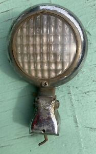 Vintage Round Us Pioneer 400 Bumper Mounted Back Up Light V8 Auto Truck 50s