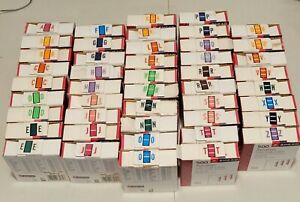 Huge Lot Of Used Smead A z Alphabetic Color coded Bar style End Tab Labels