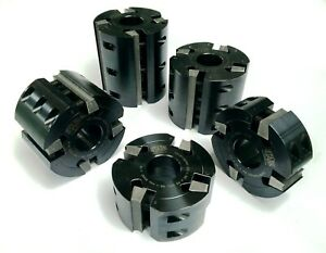 Z4 Serrated Cutter Block For Weinig Moulders 122 Dia X 40 Bore various Lengths