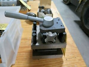 4 Way Turret Indexing Metal Lathe Tool Post Holder Machinist