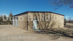 Durobeam Steel 50x100x14 Metal Building Clear Span Commercial Garage Shop Direct