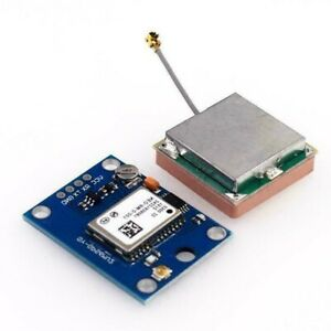 Gps Module Neo 6m 3v 5v Power Supply Universal With Antenna Fit For Arduino