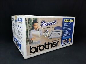new Brother Personal Fax 560 Plain Paper Copier Phone Machine Remote Access