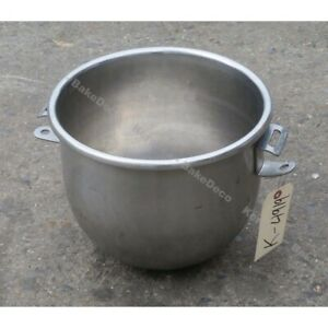 Hobart 00 295644 12 Quart Bowl To Fit A200 Mixer Used Very Good Condition