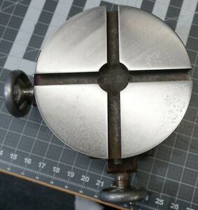 Palmgren 8 Rotary Cross Slide X y Compound Table Cleaned And Restored
