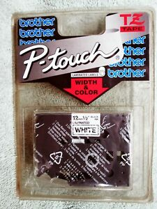 Tz231 Label Tape Cartridge Brother P touch Blk on wht 12mm 0 50 Pt 200 300 500s