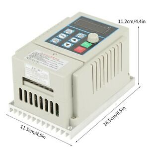 0 45kw Single To 3 Phase Vfd Variable Frequency Drive Inverter Speed Converter