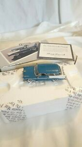 Franklin Mint 143 Scale Die Cast Vehicle 1956 Chevrolet Nomad
